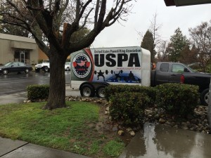 USPA Powerlifting Trailer