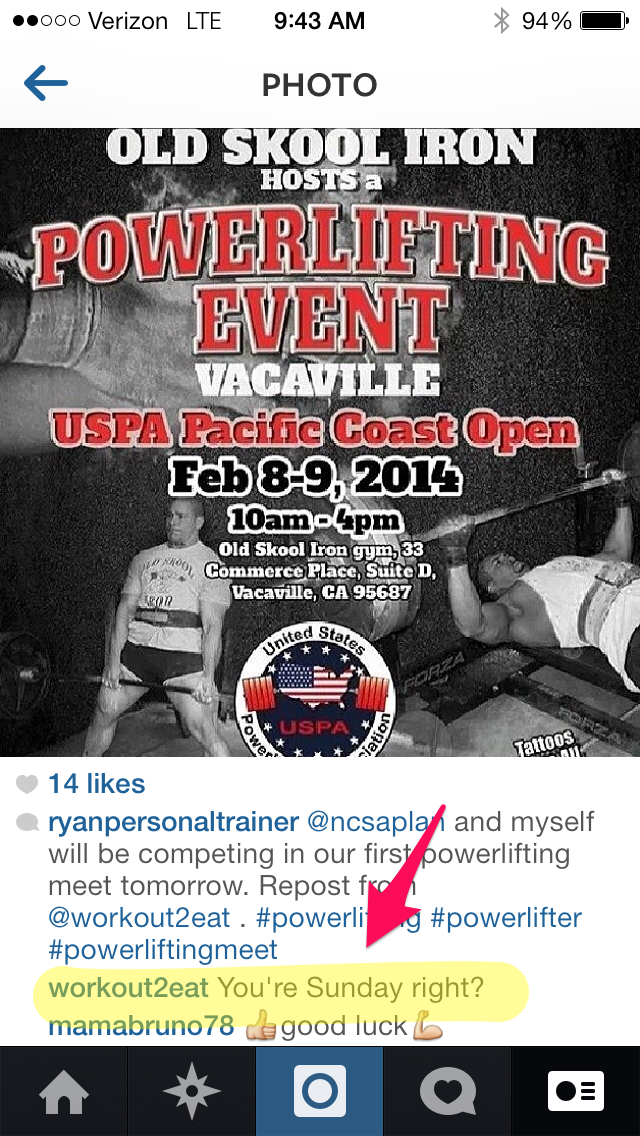 old skool gym instagram ryan pacific coast powerlifting meet