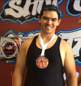 bronze medal powerlifting meet