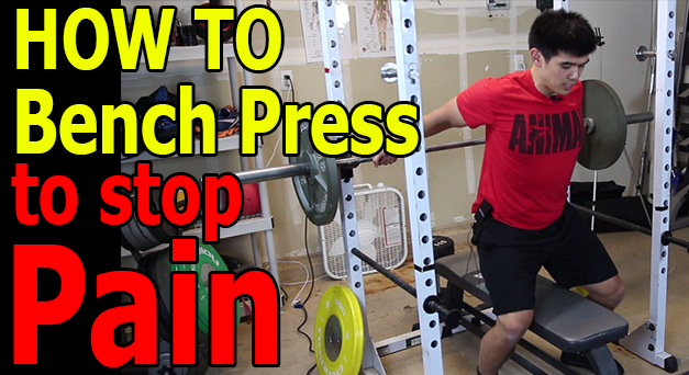 How To Bench Press Without Shoulder Pain