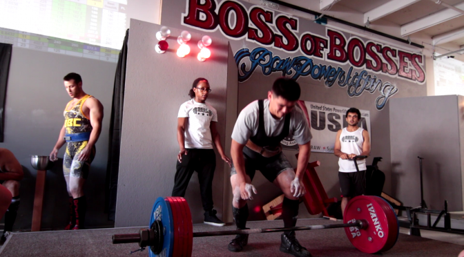 boss of bosses powerlifting,boss barbell powerlifting meet, boss barbell deadlift nerd