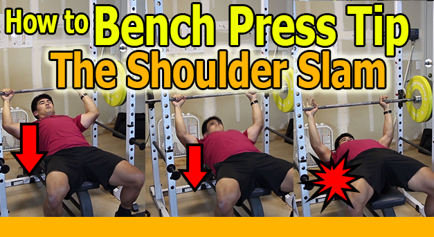 How to Bench Press with Shoulder Blades tight